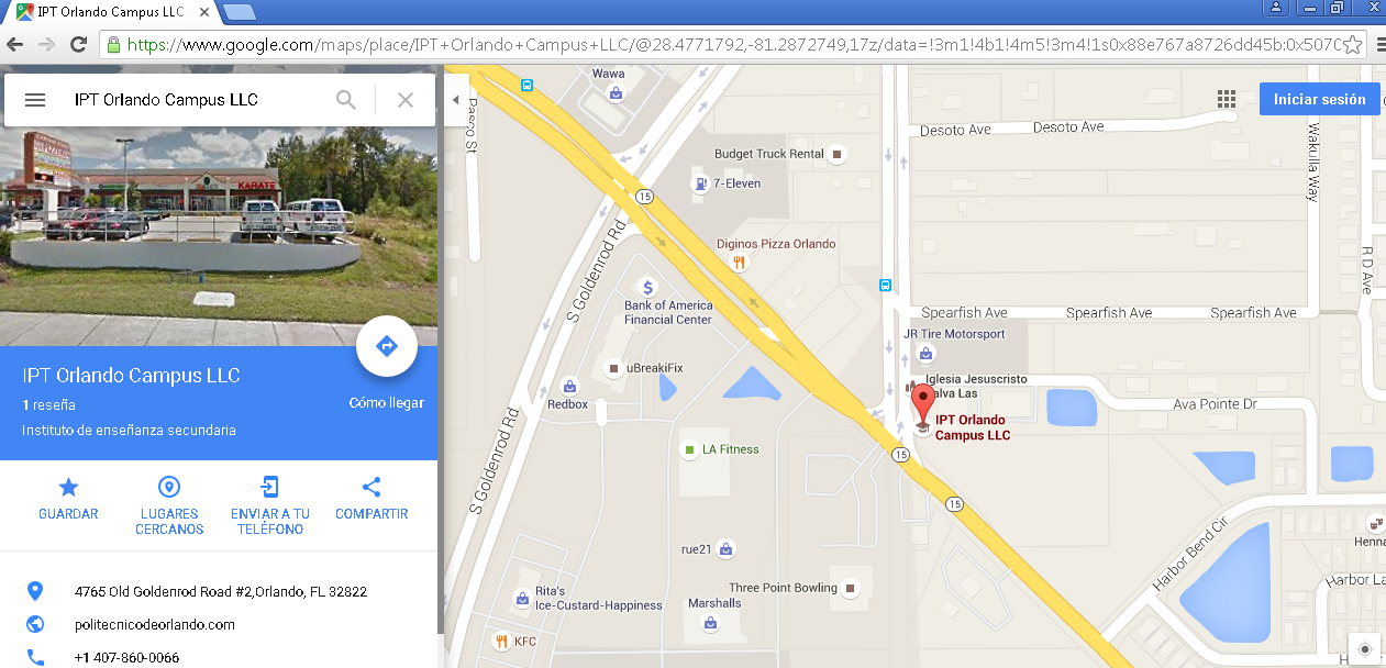 GoogleMap_-_IPT-OrlandoCampus-LLC_-_USA - http://google.com/maps/place/IPT+Orlando+Campus+LLC/
