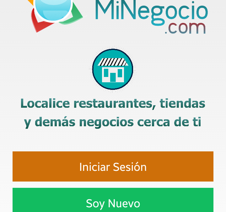 App Localice MiNegocio – Version 8